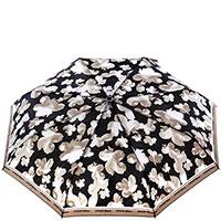 Женский зонт-автомат Ferre черно-серый, фото