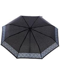Мужской зонт-автомат Ferre черного цвета, фото