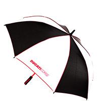 Зонт-трость Ducati Corse с фирменной расцветкой, фото