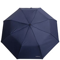 Мужской зонт-полуавтомат Baldinini синего цвета, фото