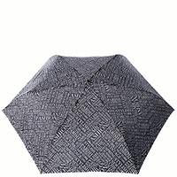 Механический черный зонт Baldinini с белым принтом, фото