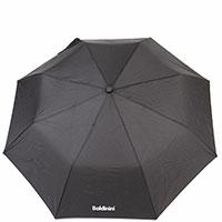 Зонт-полуавтомат Baldinini черного цвета, фото