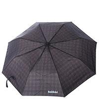 Зонт-полуавтомат Baldinini складной в клетку, фото