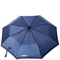 Складной зонт-полуавтомат Baldinini синего цвета, фото