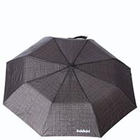 Зонт-полуавтомат Baldinini коричневого цвета в клетку, фото