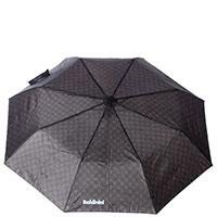 Складной зонт-полуавтомат Baldinini коричневого цвета, фото
