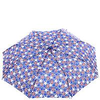 Женский зонт-полуавтомат Baldinini синего цвета, фото