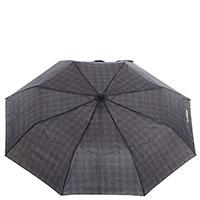 Мужской зонт-полуавтомат Baldinini коричневого цвета, фото