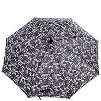 Женский зонт-трость Ferre черного цвета, фото