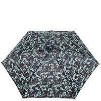 Женский зонт механический Ferre черного цвета, фото
