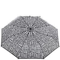 Женский механический зонт Baldinini черно-белый, фото