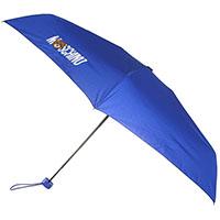 Складной зонт Moschino синего цвета, фото