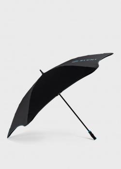 Зонт-трость Blun Sport черного цвета, фото