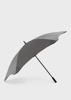 Зонт-трость Blun Sport серого цвета, фото