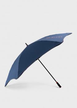 Зонт-трость Blun Sport синего цвета, фото