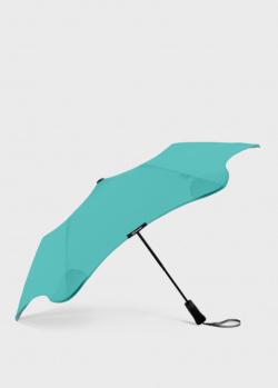Складной зонт Blun Metro 2.0 мятного цвета, фото