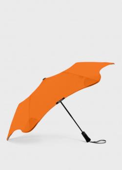Складной зонт Blun Metro 2.0 оранжевого цвета, фото