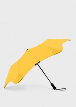 Складной зонт Blun Metro 2.0 желтого цвета, фото