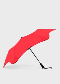 Складной зонт Blun Metro 2.0 красного цвета, фото
