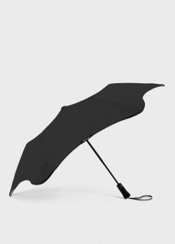 Складной зонт Blun Metro 2.0 черного цвета, фото