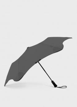 Складной зонт Blun Metro 2.0 серого цвета, фото