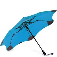 Зонт Blunt XS Metro голубой полуавтоматический в два сложения, фото