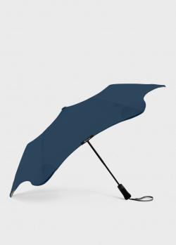 Складной зонт Blun Metro 2.0 синего цвета, фото
