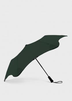 Складной зонт Blun Metro 2.0 зеленого цвета, фото