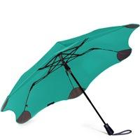 Зонт Blunt XS Metro яркий ментоловый полуавтоматический в два сложения, фото