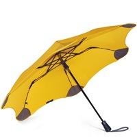 Зонт Blunt XS Metro желтый полуавтоматический в два сложения, фото