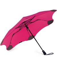 Зонт Blunt XS Metro яркий розовый полуавтоматический в два сложения, фото