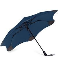 Зонт Blunt XS Metro темно-синий полуавтоматический в два сложения, фото
