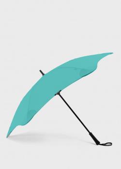 Зонт-трость Blun Classic 2.0 мятного цвета, фото