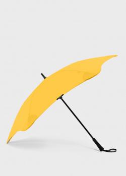 Зонт-трость Blun Classic 2.0 желтого цвета, фото