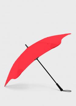Зонт-трость Blun Executive красного цвета, фото