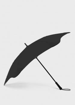 Зонт-трость Blun Executive черного цвета, фото