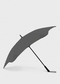 Зонт-трость Blun Executive серого цвета, фото