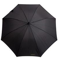Зонт-трость Ferre Milano полуавтомат черного цвета, фото