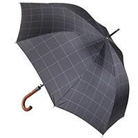 Зонт-трость Ferre Milano синий в полоску, фото