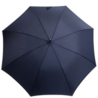 Зонт-трость Ferre Milano полуавтомат синего цвета, фото