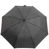 Складной зонт Ferre черный с бирюзовым, фото