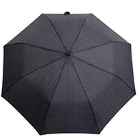 Складной зонт Ferre черный в желтую полоску, фото