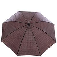 Зонт-трость полуавтомат Ferre черного цвета, фото