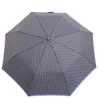 Зонт-полуавтомат Ferre черный в горох, фото