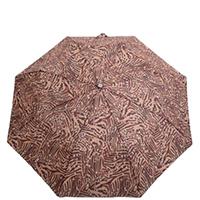Зонт-полуавтомат Ferre коричневого цвета, фото