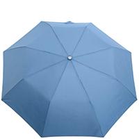 Зонт-полуавтомат Ferre Milano 73 голубой в 2 сложения, фото