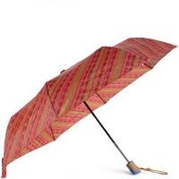 Складной зонт Ferre коричневого цвета с орнаментами, фото