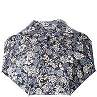 Зонт-полуавтомат Ferre черного цвета с орнаментом, фото