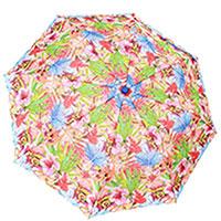 Зонт-полуавтомат Ferre с цветочным орнаментом, фото