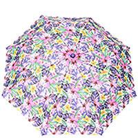 Зонт-полуавтомат Ferre фиолетовые цветы, фото